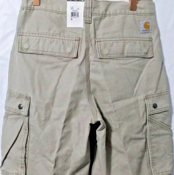 e4fe1363fb Carhartt Shorts | Khaki Cargo | Poshmark